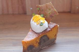 かぼちゃとマロンのパイ