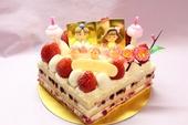 ひなまつりフラッグケーキ
