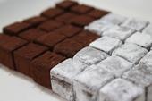 ひこうき通りの石畳(ジャルダンの生チョコ)