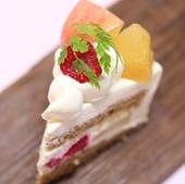 有機りんごと紅茶のショートケーキ